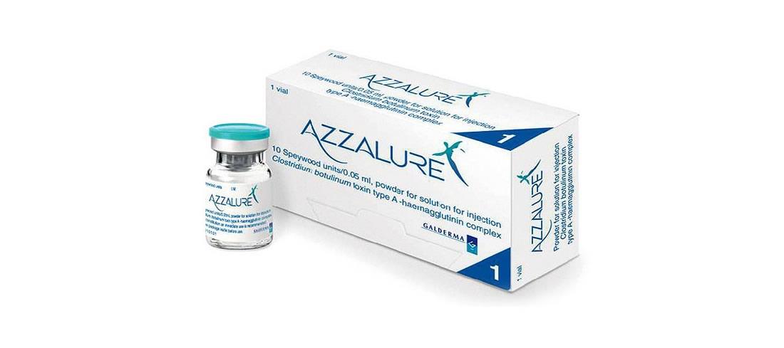 Azzalure tossina botulinica
